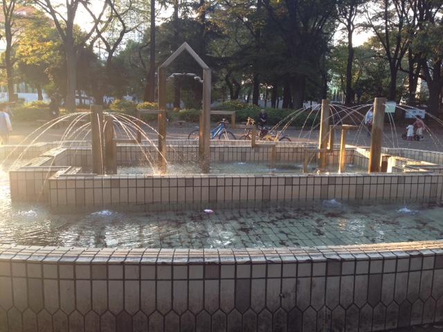戸山公園噴水